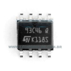 ST Atmel Fairchild - 93C46 - SOIC 8 - Flash EPROM