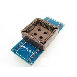 Adaptador PLCC44>>DIP44 Ler e Gravar (Simples)