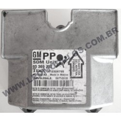 Módulo Air-Bag - 401735 A4 - 93369757-PP - GM Astra Vectra Zafira