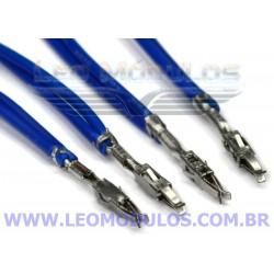 Terminal AMP-TE 964348-2 Crimpado 2 Fios 55cm 22AWG 4AVP 4CFR