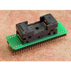 Adaptador TSOP48>>DIP48 Ler e Gravar (ZIF)